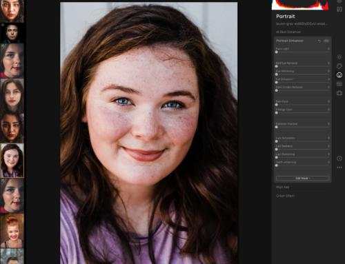 Luminar 4. Обработка портретов