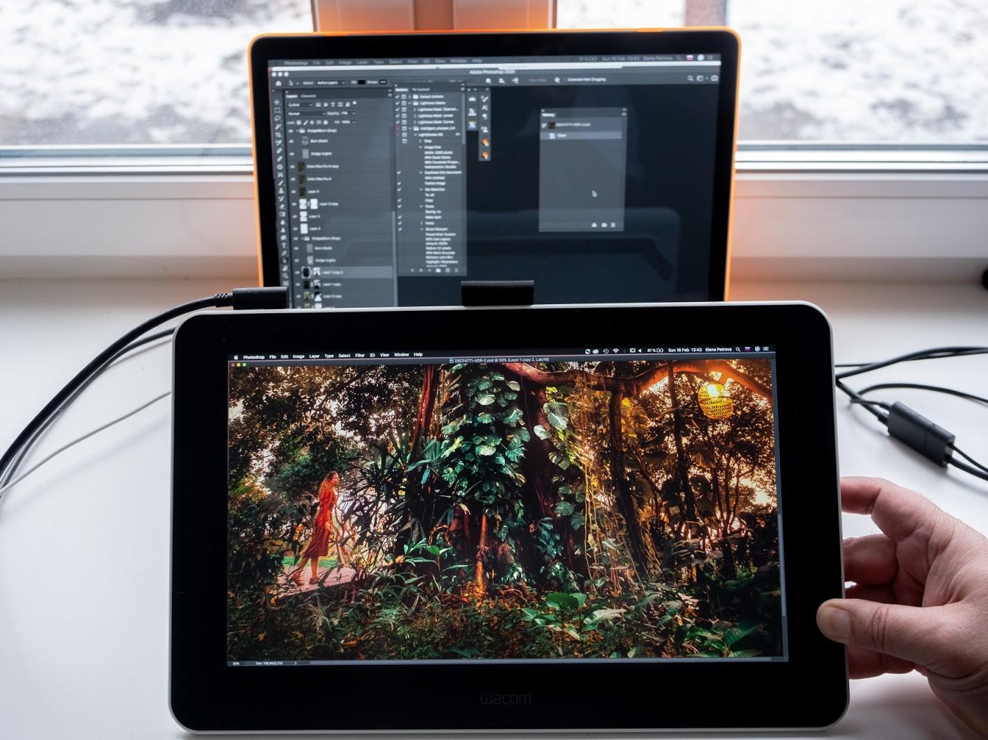 Тест Wacom One: доступный интерактивный графический дисплей