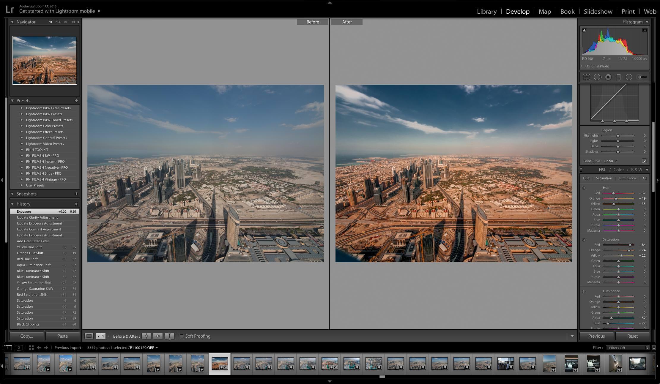 Основные принципы обработки фотографий в Adobe Lightroom